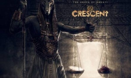 "Crescent released a lyric video for ""Beyond the Path of Amenti"""