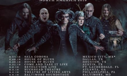 Cradle of Filth announced a 2018 tour featuring Jinjer