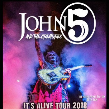 "John 5 announced the ""It's Alive!"" 2018 tour"