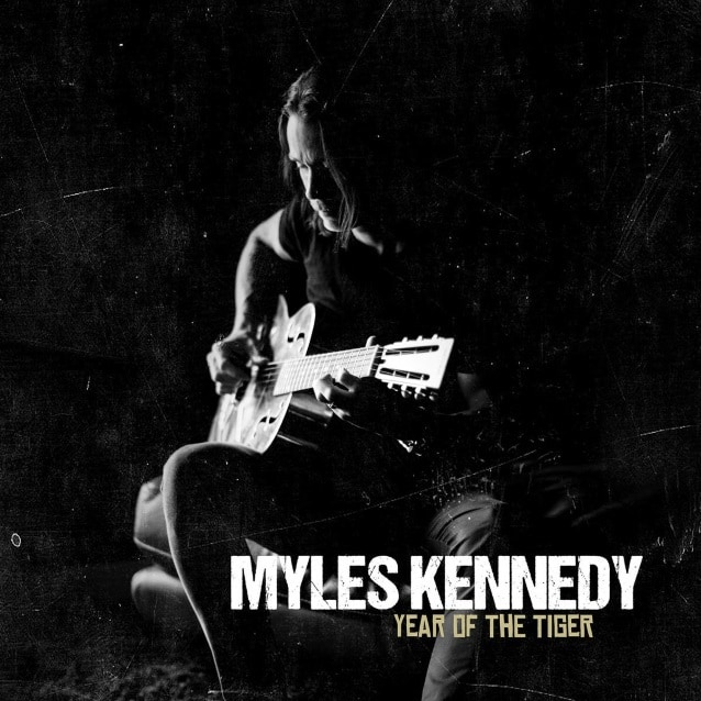 "Myles Kennedy released a lyric video for ""Devil on the Wall"""