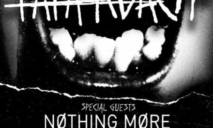 Papa Roach announced a 2018 tour w/ Nothing More, and Escape the Fate