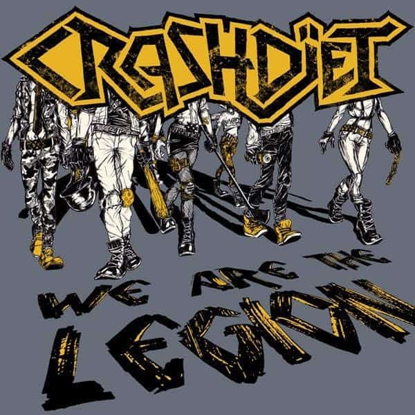 "Crashdiet released a video for ""We Are The Legion"""