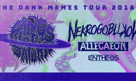 Rings of Saturn announced a tour w/ Nekrogoblikon, Allegaeon, and Entheos