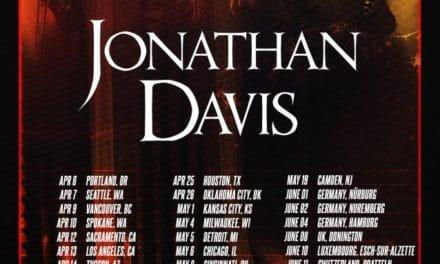 Jonathan Davis announced a solo tour