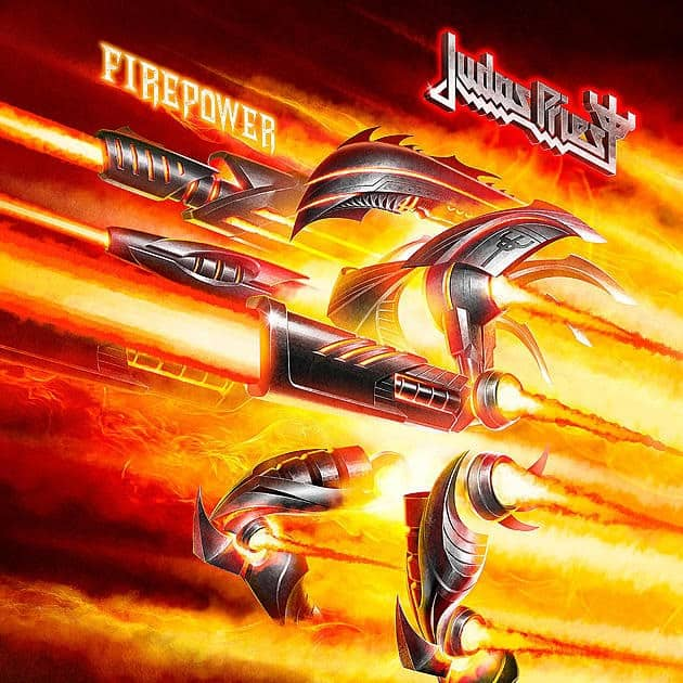 "Judas Priest released a lyric video for ""Never the Heroes"""
