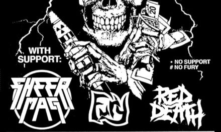 Power Trip announced a 2018 tour w/ Sheer Mag, Fury, and Red Death