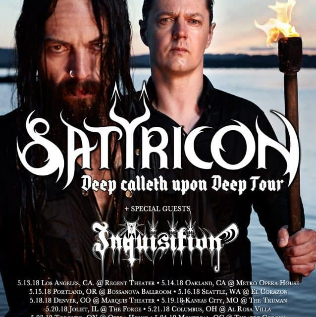 Satyricon announced their final US tour