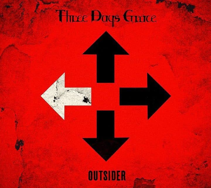 "Three Days Grace released a lyric video for ""Right Left Wrong"""