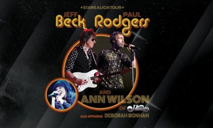 Jeff Beck announced a tour with Paul Rodgers, and Ann Wilson
