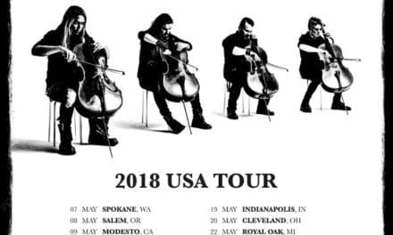 "Apocalyptica announced a tour performing ""Plays Metallica by Four Cellos"""