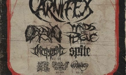 Chaos and Carnage Tour Announced feat. Carnifex, Oceano, Winds of Plague, Archspire, and more