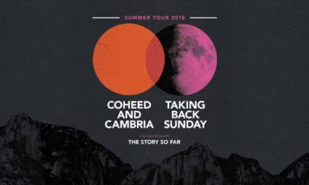 Coheed and Cambria and Taking Back Sunday annouce tour w/ The Story So Far