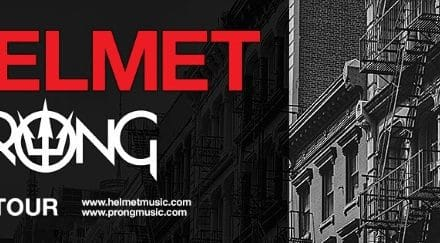 Helmet and Prong announced a co-headline tour