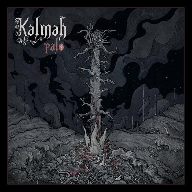 "Kalmah released a lyric video for ""Evil Kin"""