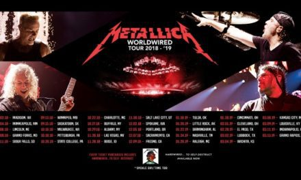Metallica announced a 2018/2019 tour