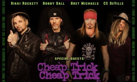 Poison announced a tour with Cheap Trick, and Pop Evil