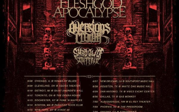 The Black Dahlia Murder and Whitechapel announce co-headline tour w/ Fleshgod Apocalypse, Aversions Crown, and Shadow of Intent