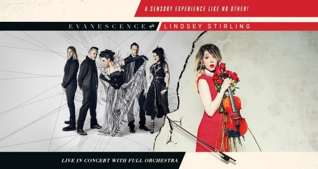 Evanescence and Lindsey Stirling announced a tour