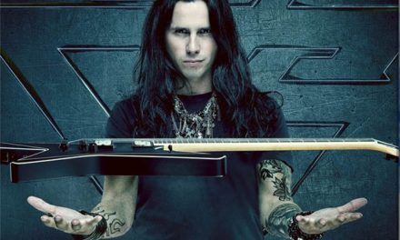 "Gus G. released a video for ""Letting Go"""