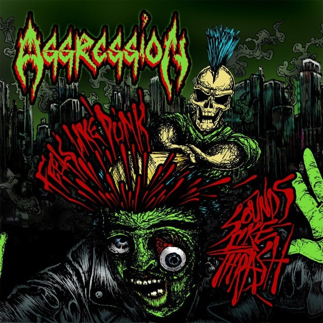 """Aggression released a lyric video for """"Tales of Terror"""""""