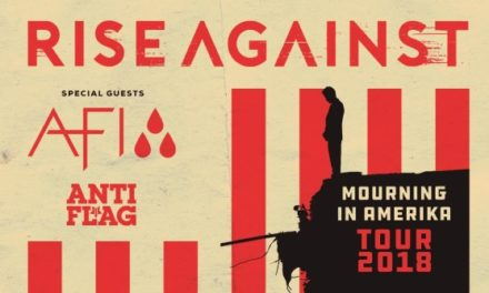 Rise Against announced a tour w/ AFI, and Anti-Flag