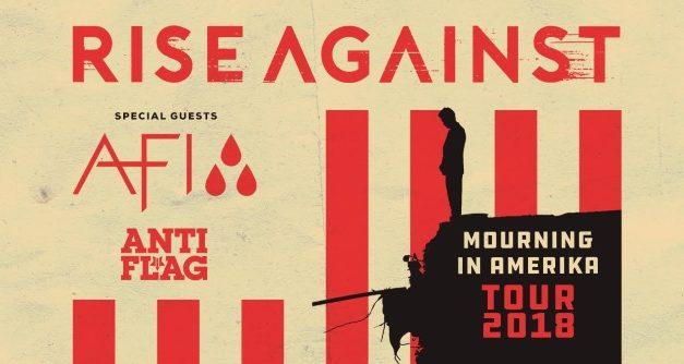 Rise Against announced a tour w/ AFI, and Anti-Flag