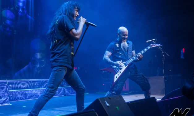 Anthrax w/ Testament, and Nukem at the Brooklyn Bowl in Las Vegas
