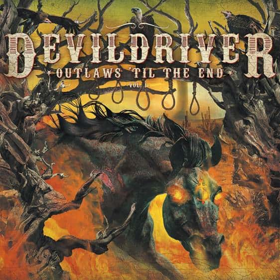 "Devildriver released a video for ""Ghost Riders in the Sky"""