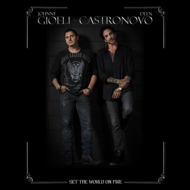 "Gioeli-Castronovo released a video for ""Set the World on Fire"""