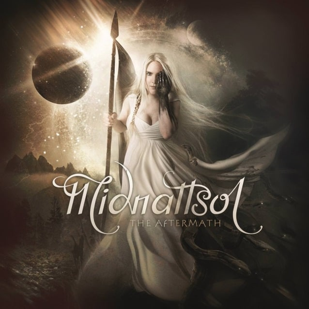 "Midnattsol released a lyric video for ""The Aftermath"""