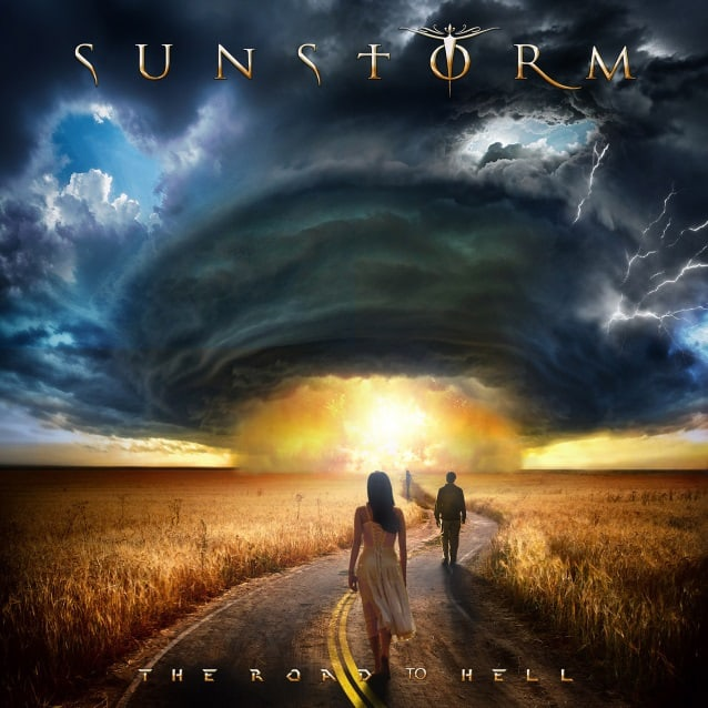 "Sunstorm released a lyric video for ""The Road to Hell"""