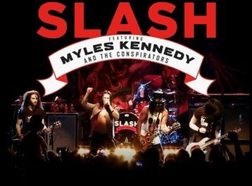 Slash ft. Myles Kennedy & The Conspirators announced a tour