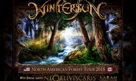 Wintersun announced a North American tour w/ Ne Obliviscaris, and Sarah Longfield