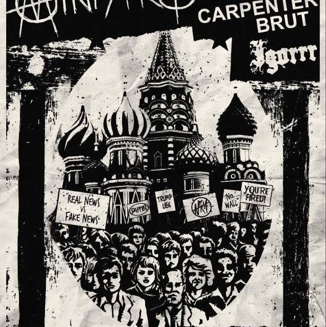 Ministry announced a tour with Carpenter Brut, and Igorrr