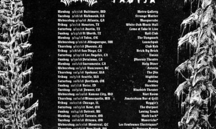 Revocation announced a tour w/ Exhumed, Rivers of Nihil, and Yautja