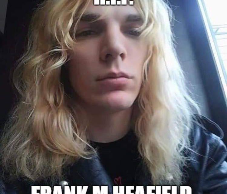 Frank Heafield passed away