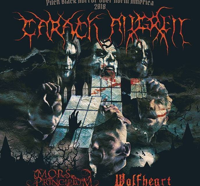 Carach Angren announced a tour with Mors Principium Est, and Wolfheart