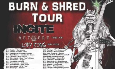 Incite announced a tour with Aethere, and Lody Kong