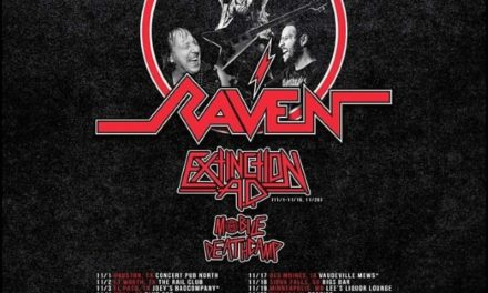 Raven announced a tour with Extinction A.D. and Mobile Deathcamp