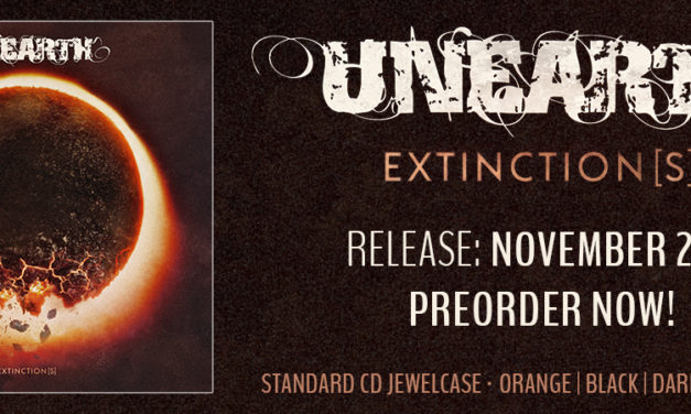 "Unearth released a lyric video for ""Survivalist"""