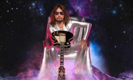 """Ace Frehley released a video for """"Rockin' With the Boys"""""""