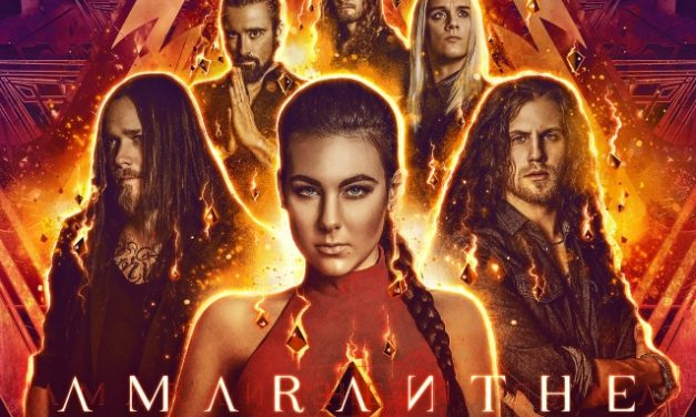 "Amaranthe released a lyric video for ""Inferno"""