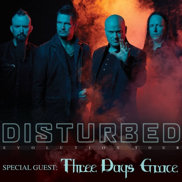 Disturbed announced a tour with Three Days Grace