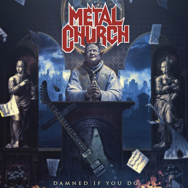 """Metal Church released a video for """"Damned if You do"""", and a new song """"Out of Balance"""""""