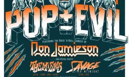 Pop Evil announced a tour with Don Jamieson, Them Evils, and Savage After Midnight
