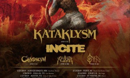 Soulfly announced a tour with Kataklysm, Incite, Chaoseum, Alukah, and Skinflint