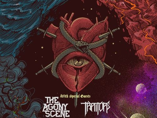 Unearth announced a tour with Fit For An Autopsy, The Agony Scene, Traitors, and I Am