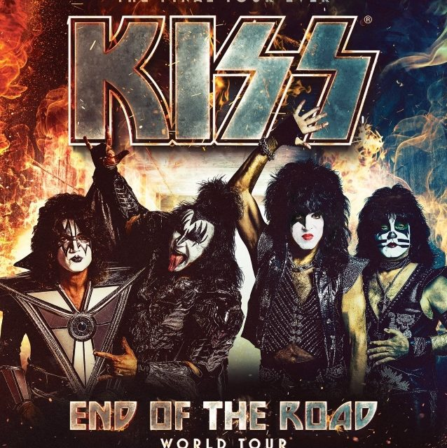 "KISS Announced the First Dates For Their ""End of the Road"" Farewell Tour"