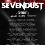 Sevendust announced a tour w/ Tremonti, Cane Hill, Lullwater, and Kirra