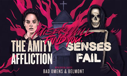 The Amity Affliction announced a tour w/ Senses Fail, Bad Omens, and Belmont